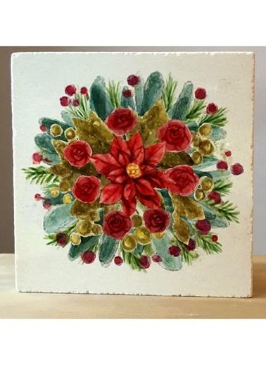 LWP Shop Yılbaşı Çiçekleri Traverten Nihale Renkli
